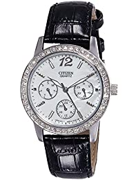 Citizen Analog Mother of Pearl Dial Women's Watch ED8090-11D