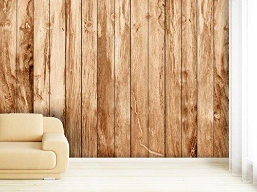 Fototapete Teak Wood - weitere Größen und Materialien wählbar - DEUTSCHE PROFI QUALITÄT von Trendwände -