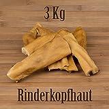 3kg rinder testa Pelle Bovina-Come orecchie di manzo bue ziemer mastica kausnack