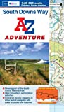South Downs Way Adventure Series (Adventure Atlas) by Geographers A-Z Map Co Ltd (2013-03-04)