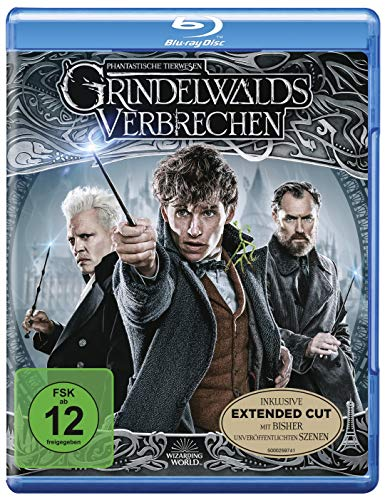 Phantastische Tierwesen: Grindelwalds Verbrechen (Kinofassung + Extended Cut) [Blu-ray]