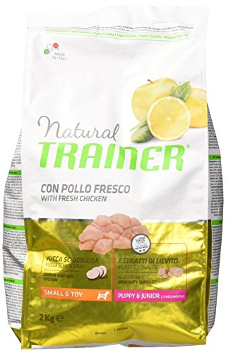 Natural Trainer Trainer Natural Small Puppy Junior kg. 2 Cibo Secco per Cani, Multicolore, Unica