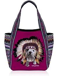 Teo Jasmin - Sac grand cabas Teo apache - Carmen
