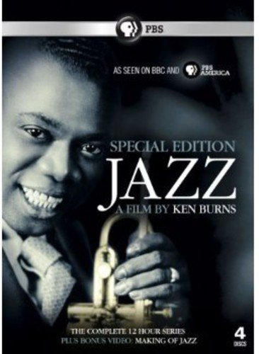 Jazz - A Film by Ken Burns - 4 DVD BOXSET [Region 2 UK] [UK Import] (Jazz-dvd-set)