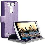 Terrapin Étui Housse en Cuir Ultra-mince Avec La Fonction Stand pour LG G3 S - Violet