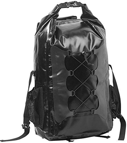 Semptec Urban Survival Technology Trekkingrucksack: Wasserdichter Trekking-Rucksack aus LKW-Plane, 30 Liter, schwarz (Einkaufs-Rucksack)