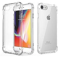 RKINC Funda para Apple iPhone 6 Plus 6S Plus, Esquinas reforzadas Funda de TPU de cojín Suave Ultrafina, Ligera, Flexible y Resistente a los arañazos para Apple iPhone 6 Plus 6S Plus