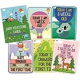 Syga Baby Milestone Cards (Pack of 27)
