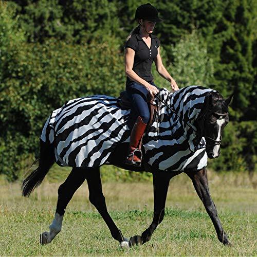 Bucas Buzz-Off Riding Zebra - Ausreitdecke, Groesse:145
