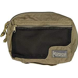51QNGKWk%2BjL. SS300  - Maxpedition Unisex's MX329K-BRK Individual First Aid Pouch, Khaki, One size