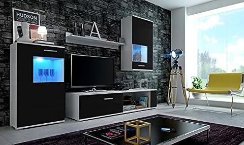 EVE Moderne Wohnwand, Exklusive Mediamöbel, TV-Schrank, Neue Garnitur, Große Farbauswahl