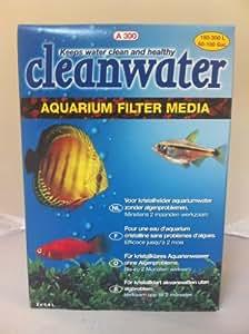 CLEANWATER A300 résine anti-PO4, NO2 et NO3 pour aquarium jusqu'à 300L