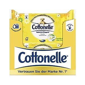 Cottonelle Feuchtes Toilettenpapier Natürlich Pflegend Nachfüllpack