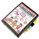 Oyedens Baby-Geschenk-Buch Magische Wasser Zeichnung Malbuch + Doodle Stift Teppich