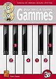 Gammes pour piano & claviers en 3D (1 Livre + 1 CD + 1 DVD)
