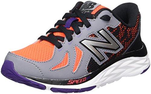 New Balance - KL410Z2Y - KL410Z2Y - Color: Gris-Naranja-Negro - Size: 37.0 nbhiTIW