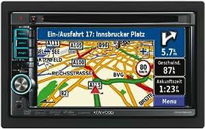 """Kenwood DNX5260BT Système de navigation multimédia 6"""" pour l'Europe avec kit mains libres Bluetooth / USB / connexion iPod-iPhone / entrée AV AUX (Import Royaume Uni)"""