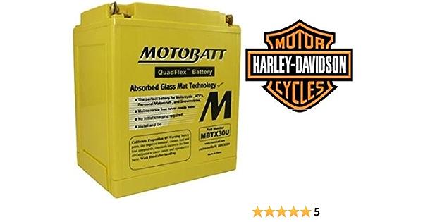 Agm Batterie Motobatt Mbtx30u X Motorrad Harley Touring Big Twin Cam Electra Street Glide 97 13 Auto