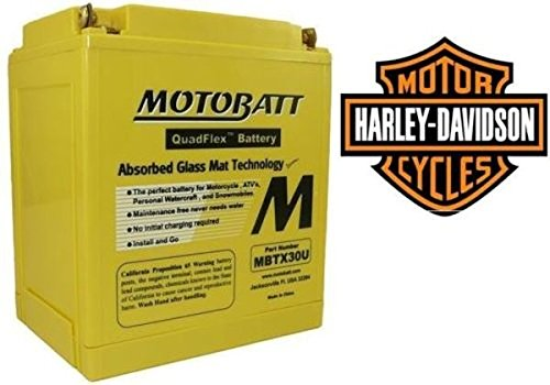 Batteria AGM Motobatt MBTX30U x Moto Harley Davidson Touring 97-13