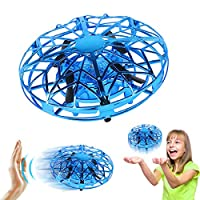 Toys for 3-10 Year Old Boys Joy-Jam Flying Ball Mini Drone for Children Air Magic Hogs Hand Controlled UFO Flying Helicopter Indoor Games for Kids with LED Lights Christmas Birthday Gifts