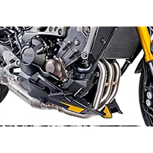 Puig 7540j Topper for Yamaha MT09/Tracer/Tracer GT/SP Akrapovic Exhaust, Matte Black