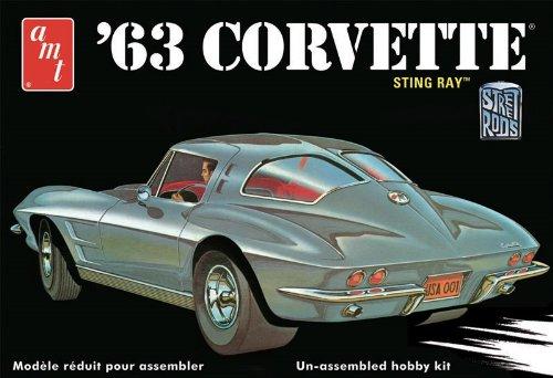 round2-amt861-12-1-25-1963-er-chevy-corvette-sting-ray-plastikmodellbausatz