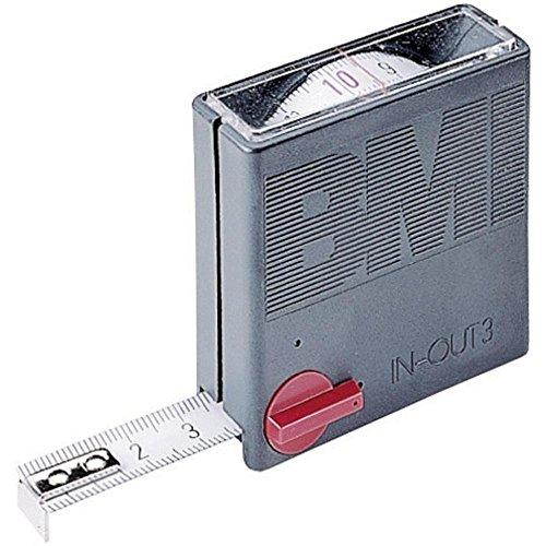 """BMI 404351010 Taschenbandmaß""""In-Out"""" 3m mit mm/Zoll Teilung"""