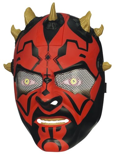 Star Wars Electronic Casco/máscara de Darth Maul