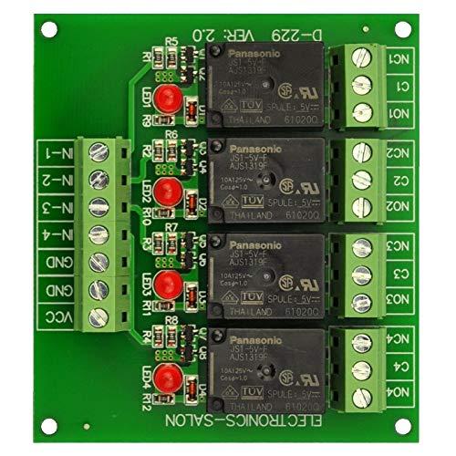 MY2J Coil General Purpose Relay DPDT 8 Pin w Socket Base AC 6V 5A 240VAC//28VDC