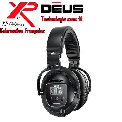 Xp Metal Detectors - Détecteur De Métaux Deus - Casque Sans Fil Ws5