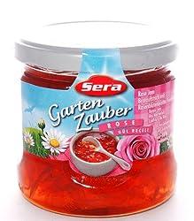 Sera Rosen- Fruchtaufstrich Mit Echten Rosenblättern (400g)