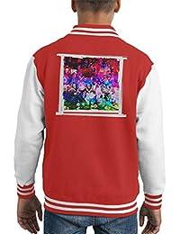 Mirrorpix Willy Wonka and The Chocolate Factory Oompa Loompas On Set Kid's Varsity Jacket