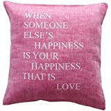 Kissen Print Happiness