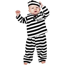 Stekarneval - Disfraz de preso infantil, talla 80 cm (303880)
