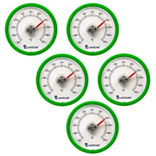 Runde 5 Stück Set - Lantelme 5 Stück Universal Thermometer Set