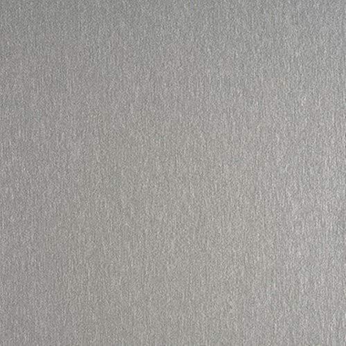 Rohr-Trading.SURFACES Klebefolie I Selbstklebende Folie Tapete I Möbelfolie I Küchenfolie I Fototapete I inkl Filzrakel I Metallic I Metalloptik I Metall Edelstahl Matt Silber [150 x 45cm] - Edelstahl Folie