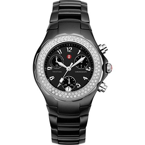 Michele MWW12A000005/544 - Reloj para mujeres, correa de cerámica color negro