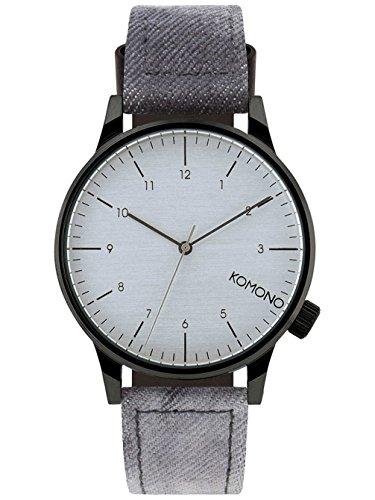 komono-mens-winston-heritage-watch-in-black-denim-color-canvas