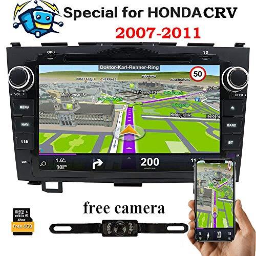 8 pulgadas para Honda CRV CR-V 2007 2008 2009 2010 2011 en...