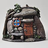 Fairy Garden UK Pebble House Mystical Magical Garden Indoor LED Licht Decor – batteriebetrieben Elf Pixie Home 16 cm