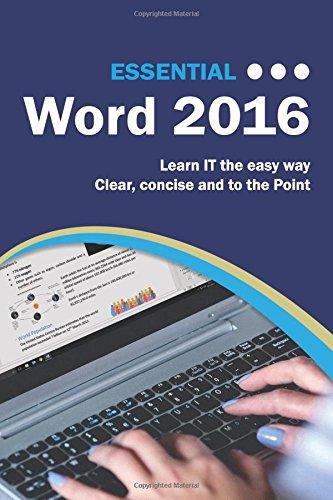 Essential Word 2016 (Computer Essentials, Band 1)