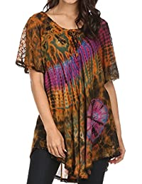 2ad7cbeef55 Amazon.co.uk: Sakkas - Tops, T-Shirts & Blouses / Women: Clothing