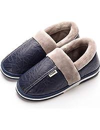 0d537cf8a8c3 Pantofole Uomo Donna Casa Antiscivolo Peluche Scarpe Inverno Caldo Morbido  Invernali Ciabatte