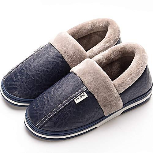 Asifn Pantofole Uomo Donna Casa Antiscivolo Peluche Scarpe Inverno Caldo Morbido Invernali Ciabatte