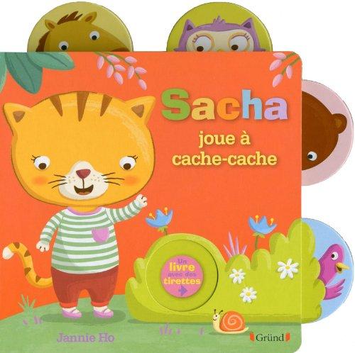 Sacha joue à cache-cache