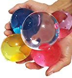GreatestPAK Sale! Big Crystal Soil Water Beads Toys, Kids Lovely 8-12mm Mud Hydrogel Gel Growing Up Bead Jelly Toy Creative Children Education Toy Gift Home Decoration (230G)