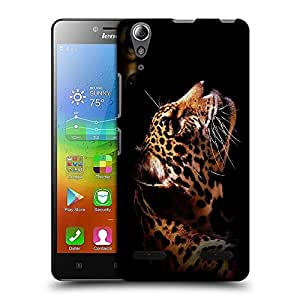 Snoogg Leopard Designer Protective Back Case Cover For Lenovo A6010 Plus