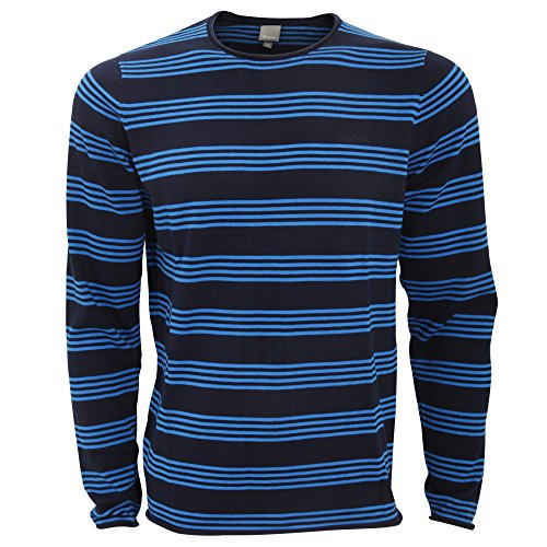 Bench Herren Adour Langarm. Streifen-pullover/Sweater