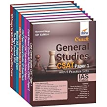 Complete Study Material for IAS Prelim (CSAT) & Mains General Studies (set of 8 books) 2nd Edition