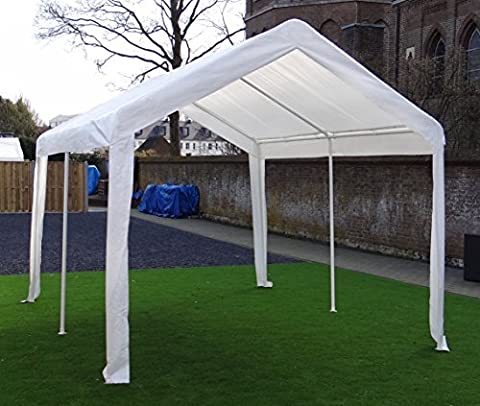 Foldable Gazebo Pavilion Party Tent | 400 x 300 cm (4 x 3 m) | Rectangular | White | SORARA | 31 kg (UV 50+)| Event Outdoor Camping Carport Shelter Canopy